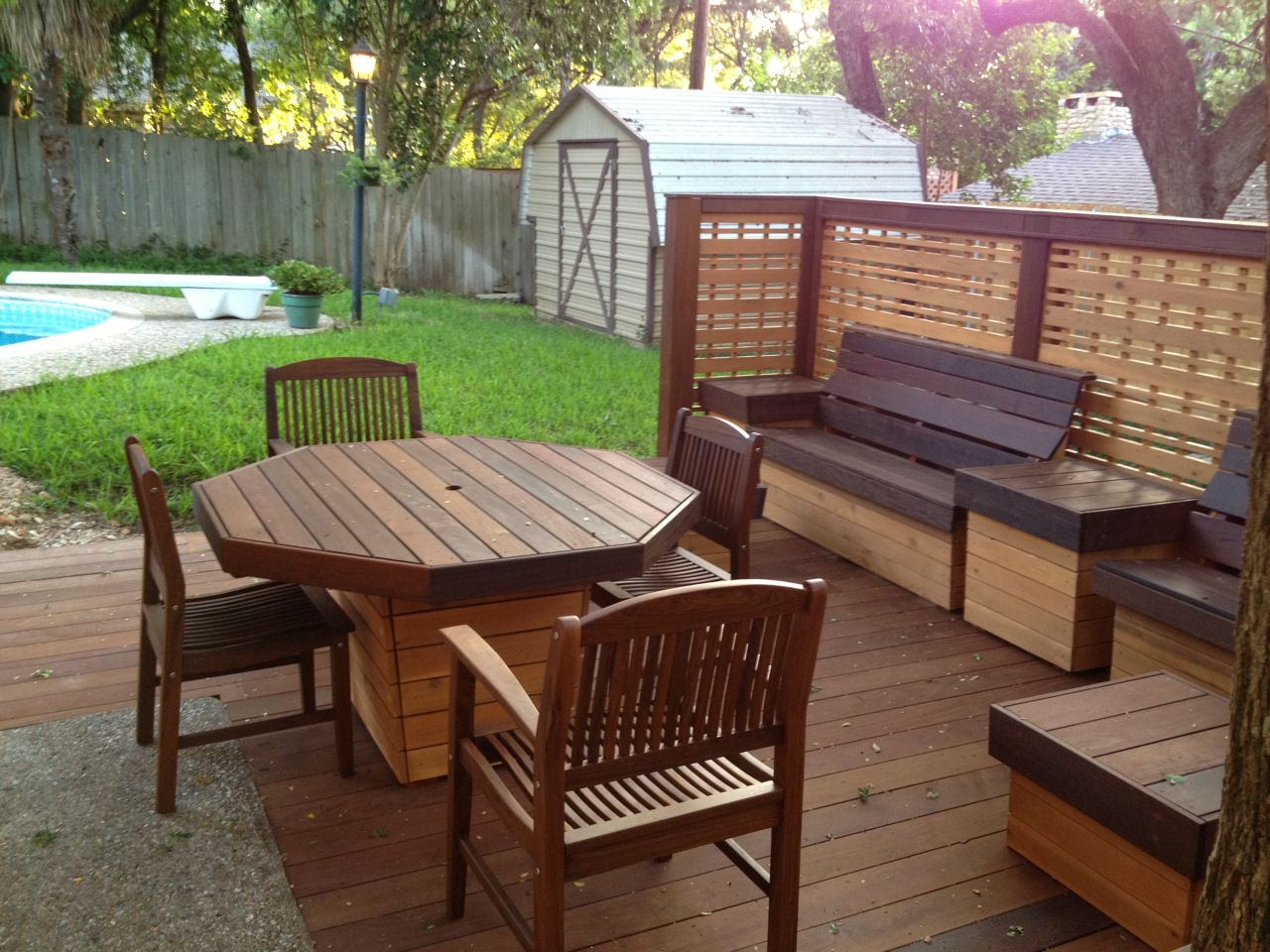 Deck furniture phase ii for Deck furniture
