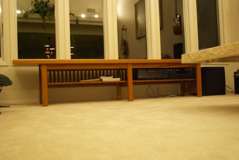 Images/long Benches/long Mahogany Bench In .