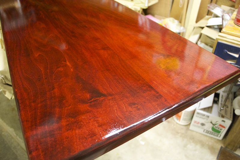 Images Long Benches Maple Bench Top After