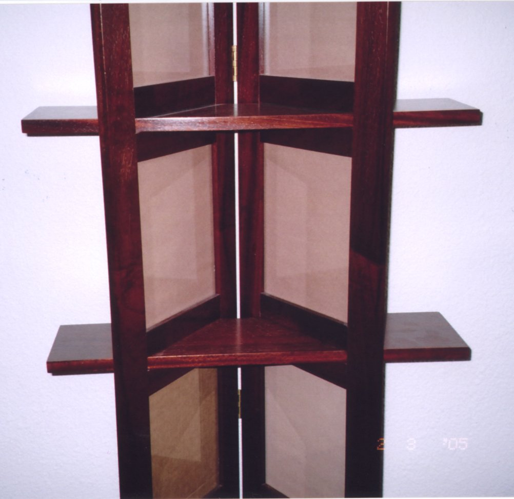 frames and shelves