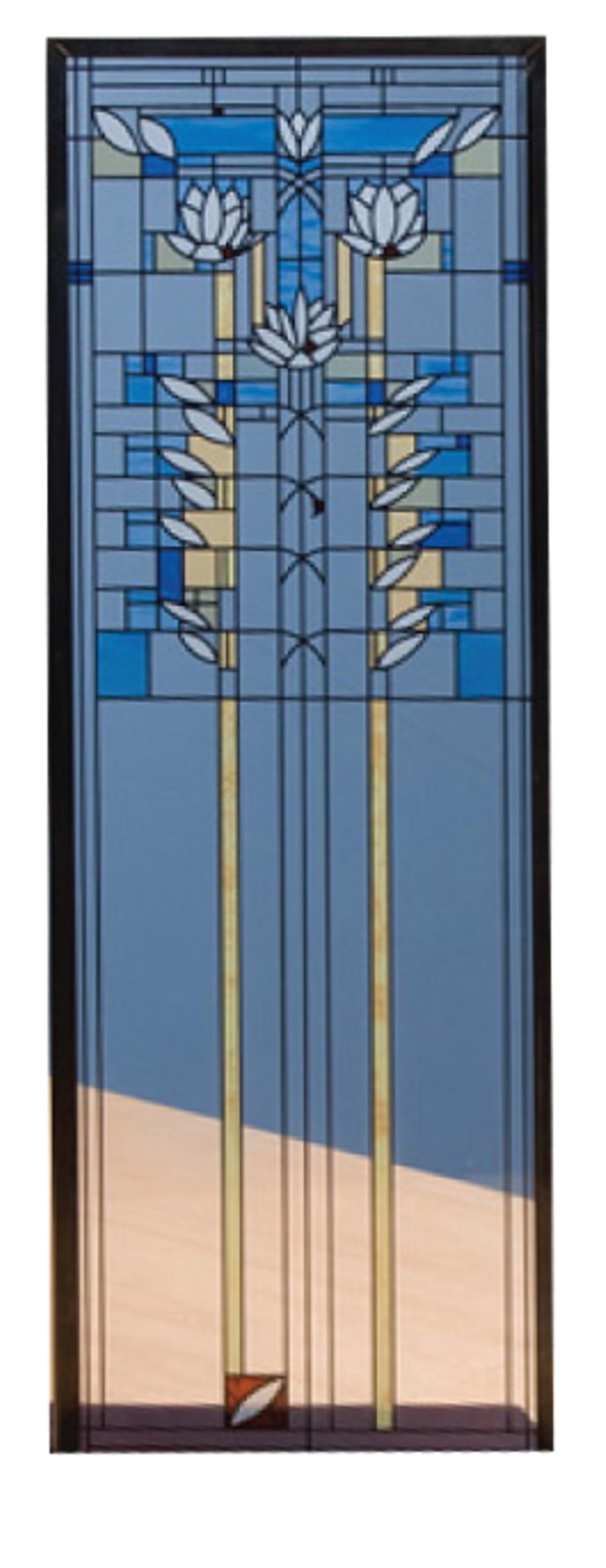 Frank Lloyd Wright Stained Glass Panels Quotes